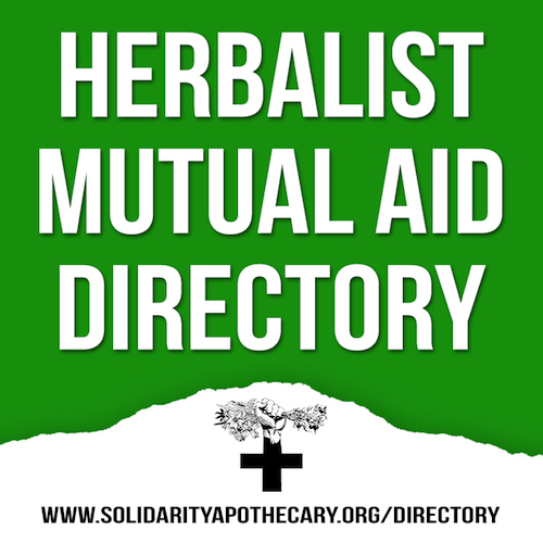 Herbalist Mutual Aid Directory