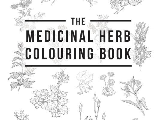 The Medicinal Herb Colouring Book