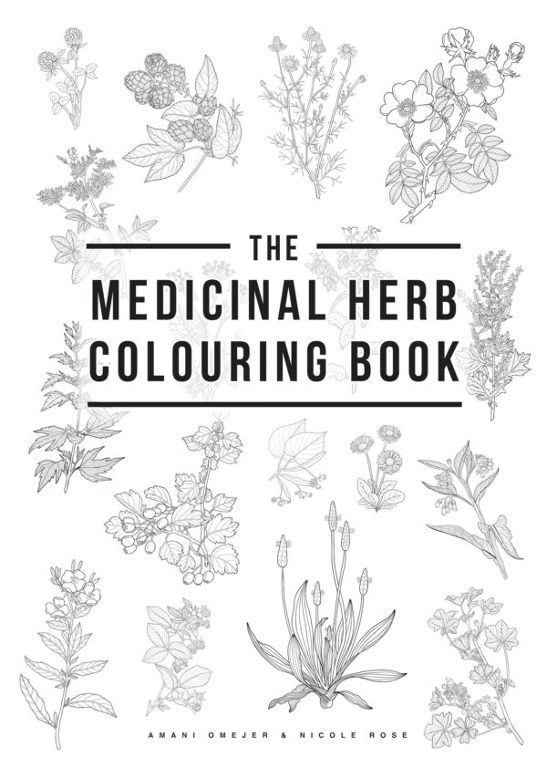 The Medicinal Herb Colouring Book