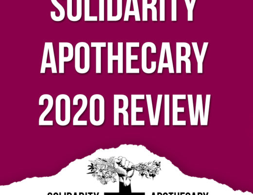 Solidarity Apothecary 2020 Review